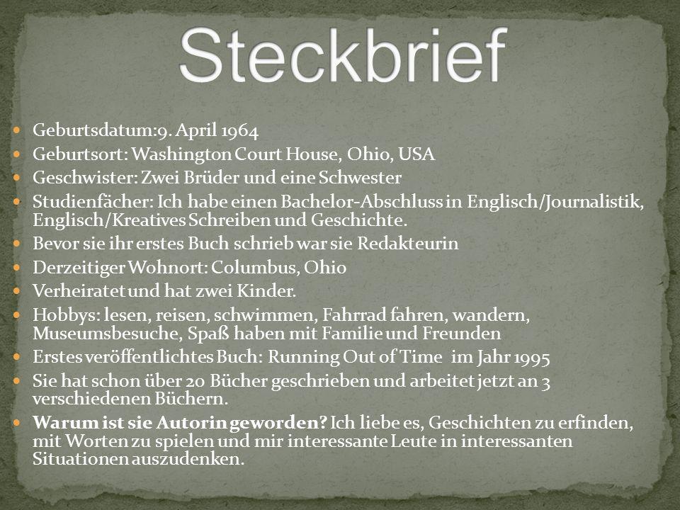 Steckbrief Geburtsdatum:9. April 1964