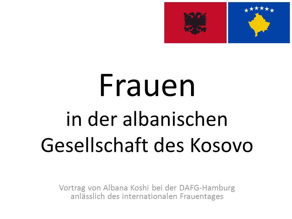 Frauen in der albanischen Gesellschaft des Kosovo