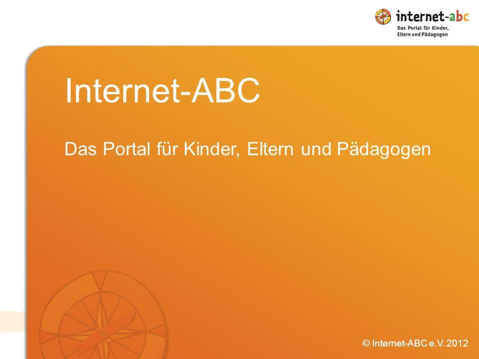 Internet-ABC Das Portal für Kinder, Eltern und Pädagogen