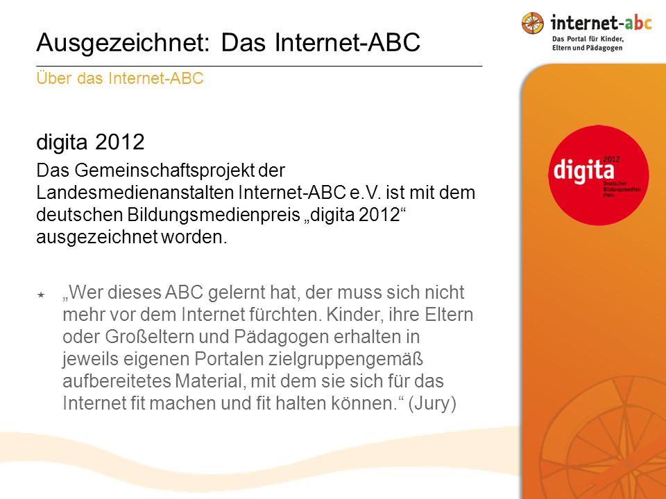 Ausgezeichnet: Das Internet-ABC