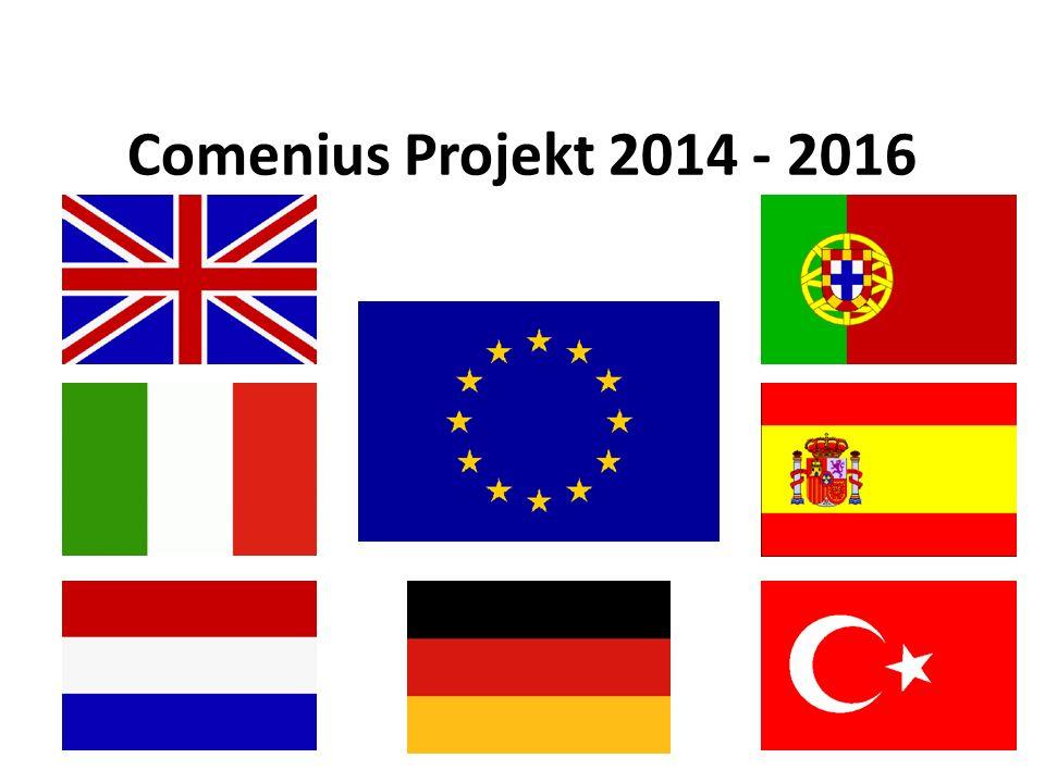 Comenius Projekt 2014 - 2016