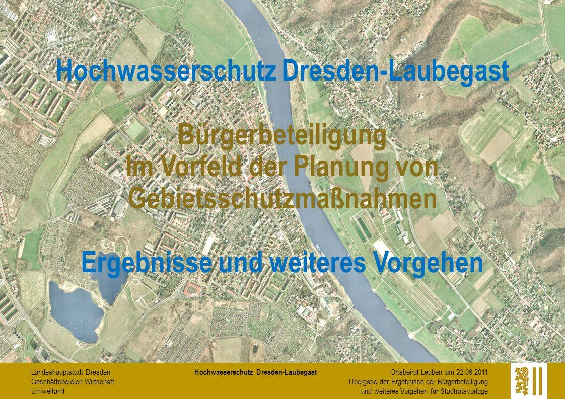 Hochwasserschutz Dresden-Laubegast Bürgerbeteiligung