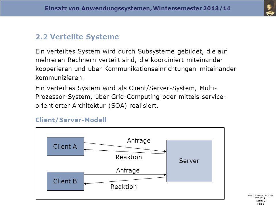 2.2 Verteilte Systeme