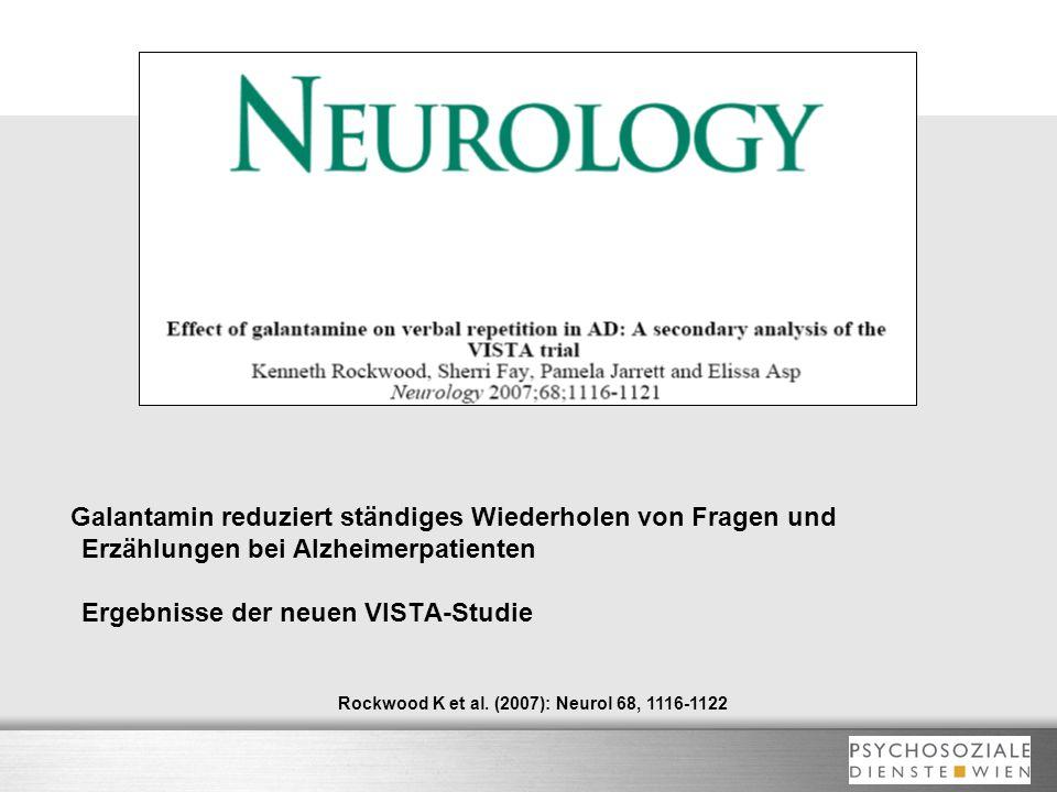 Rockwood K et al. (2007): Neurol 68, 1116-1122