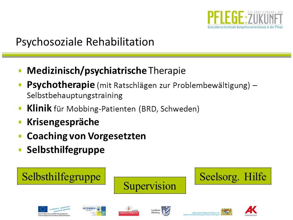 Psychosoziale Rehabilitation