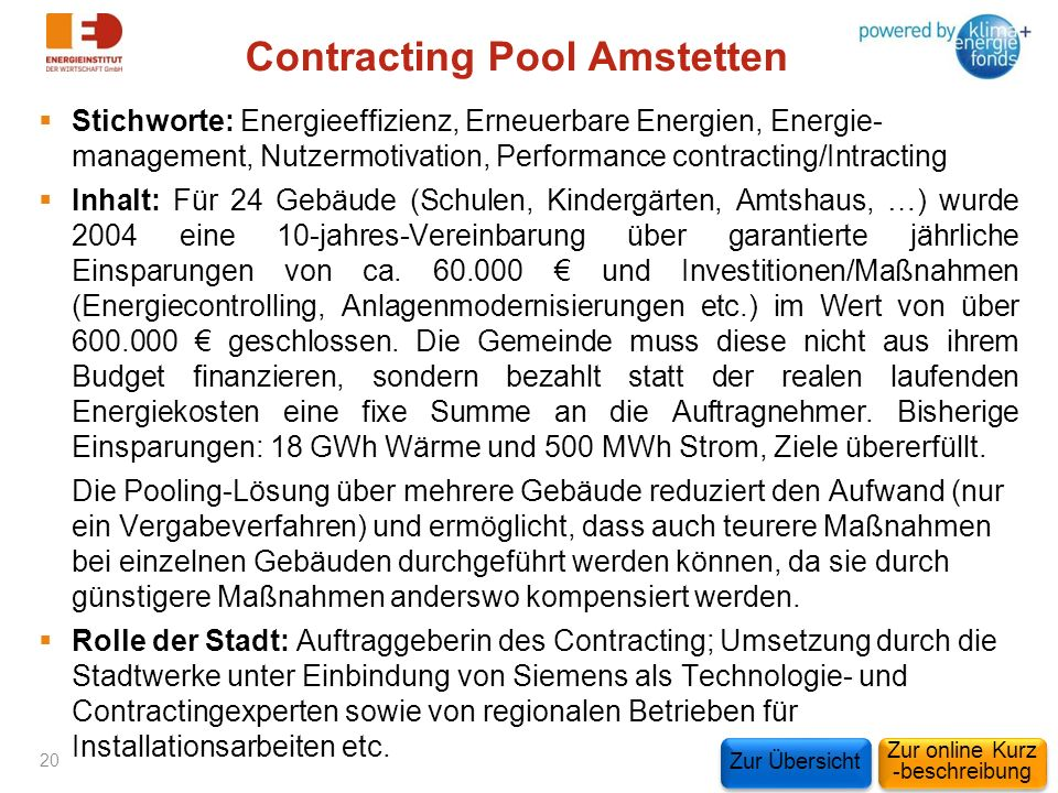 Contracting Pool Amstetten