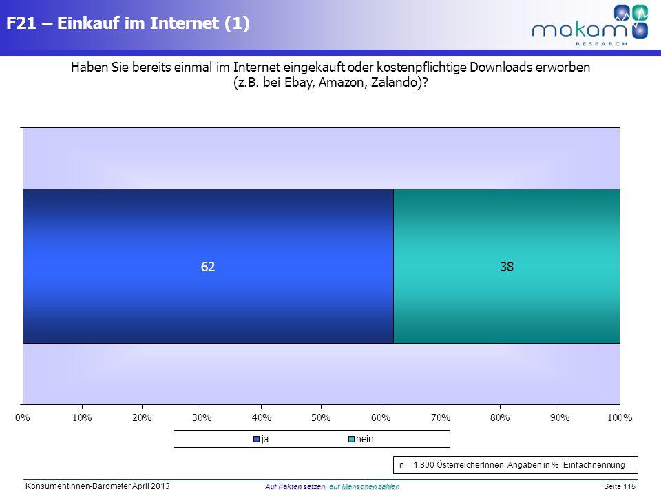 F21 – Einkauf im Internet (1)