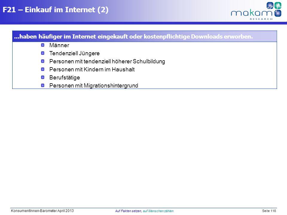 F21 – Einkauf im Internet (2)