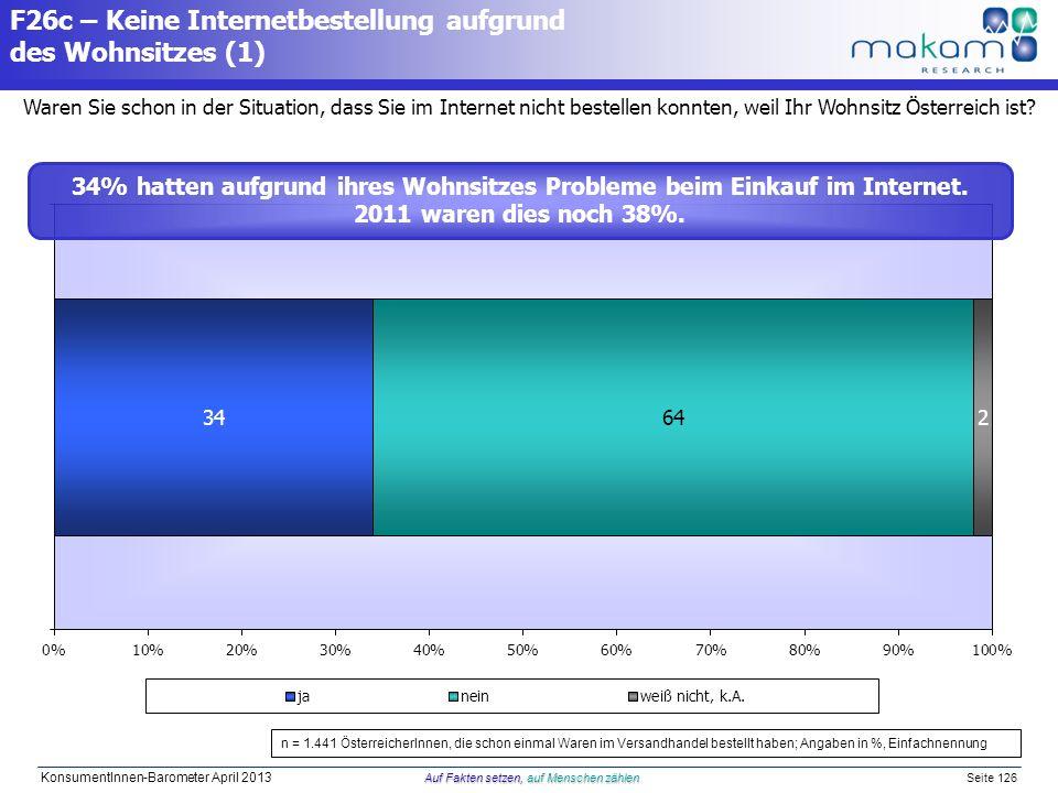 F26c – Keine Internetbestellung aufgrund des Wohnsitzes (1)