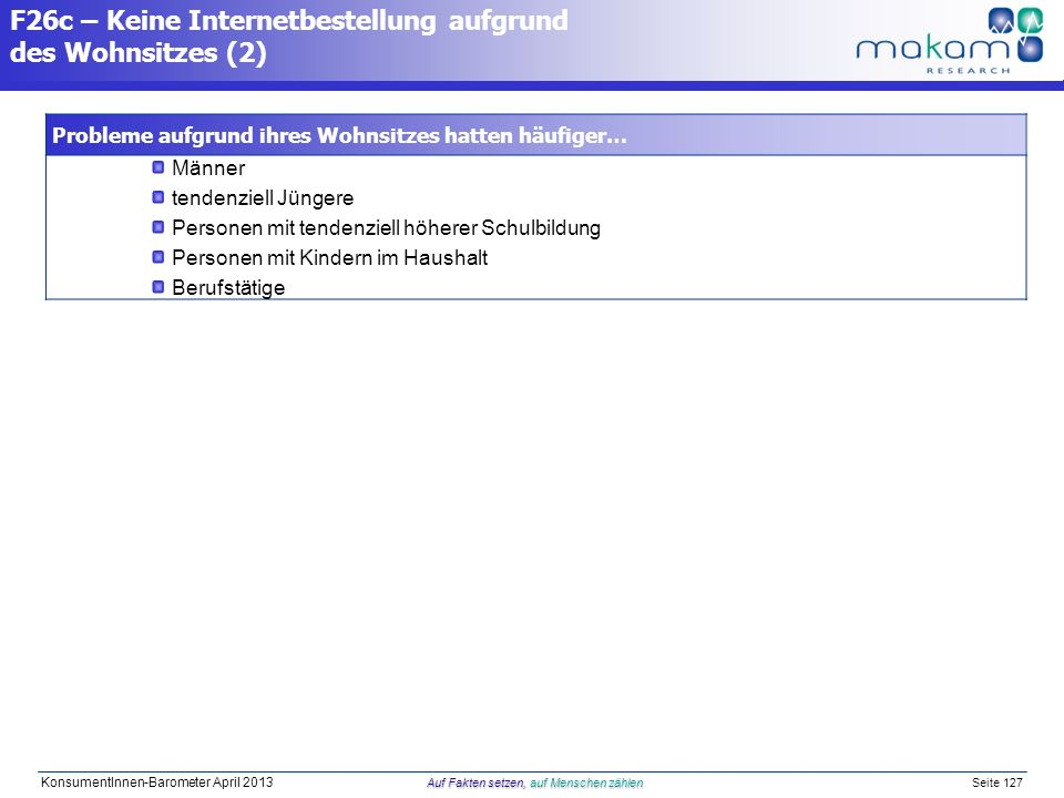 F26c – Keine Internetbestellung aufgrund des Wohnsitzes (2)