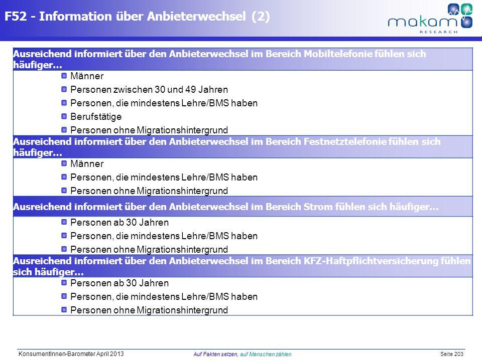 F52 - Information über Anbieterwechsel (2)
