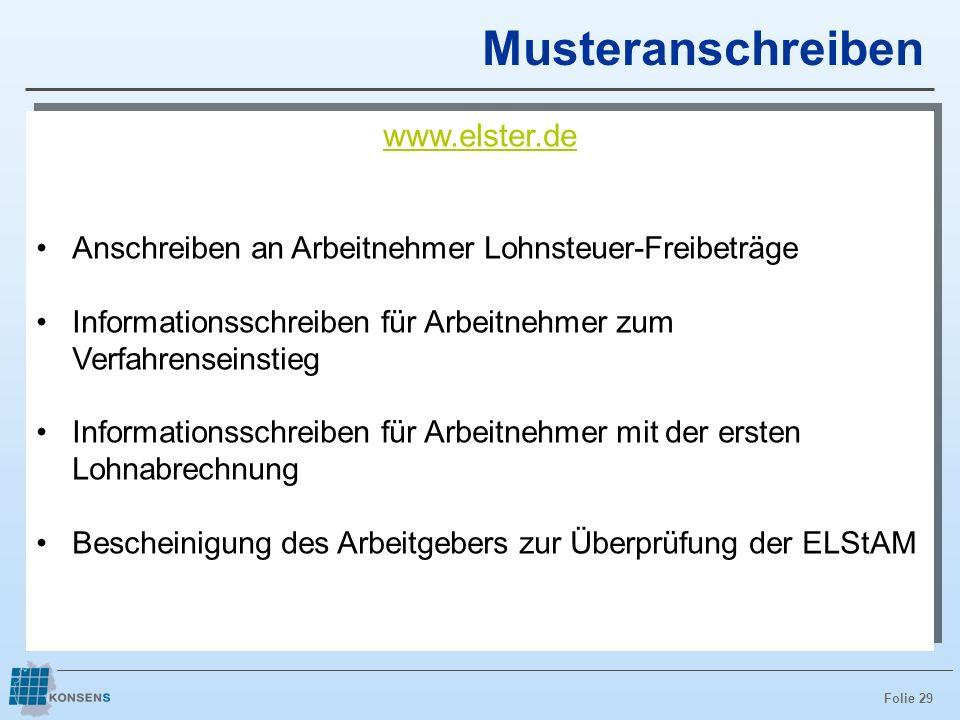 Musteranschreiben www.elster.de