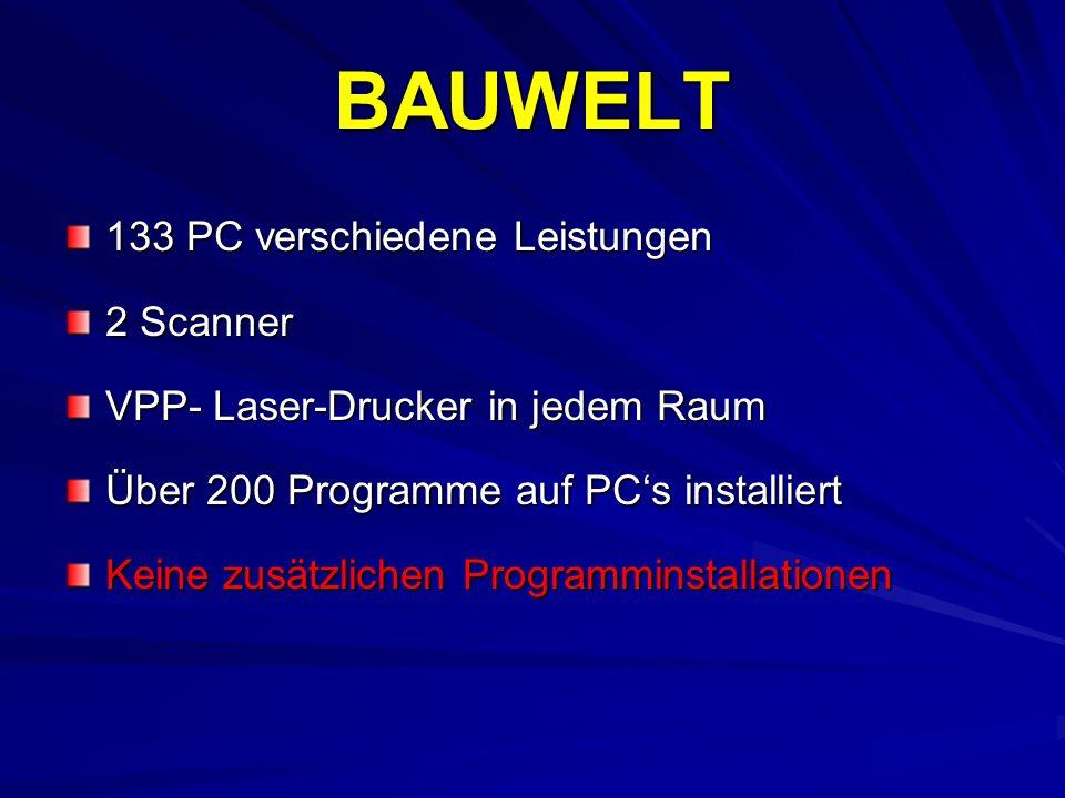 BAUWELT 133 PC verschiedene Leistungen 2 Scanner