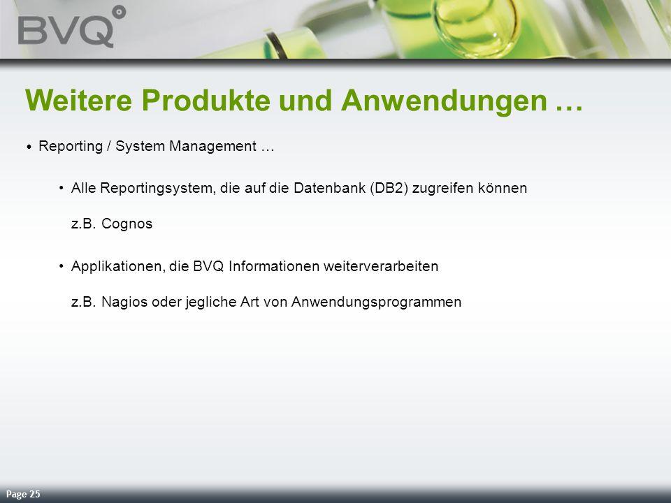 Weitere Produkte und Anwendungen …