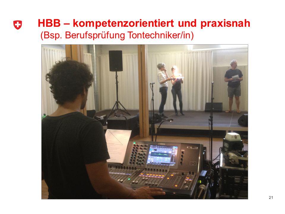 HBB – kompetenzorientiert und praxisnah (Bsp
