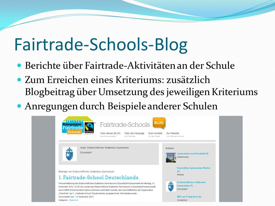 Fairtrade-Schools-Blog
