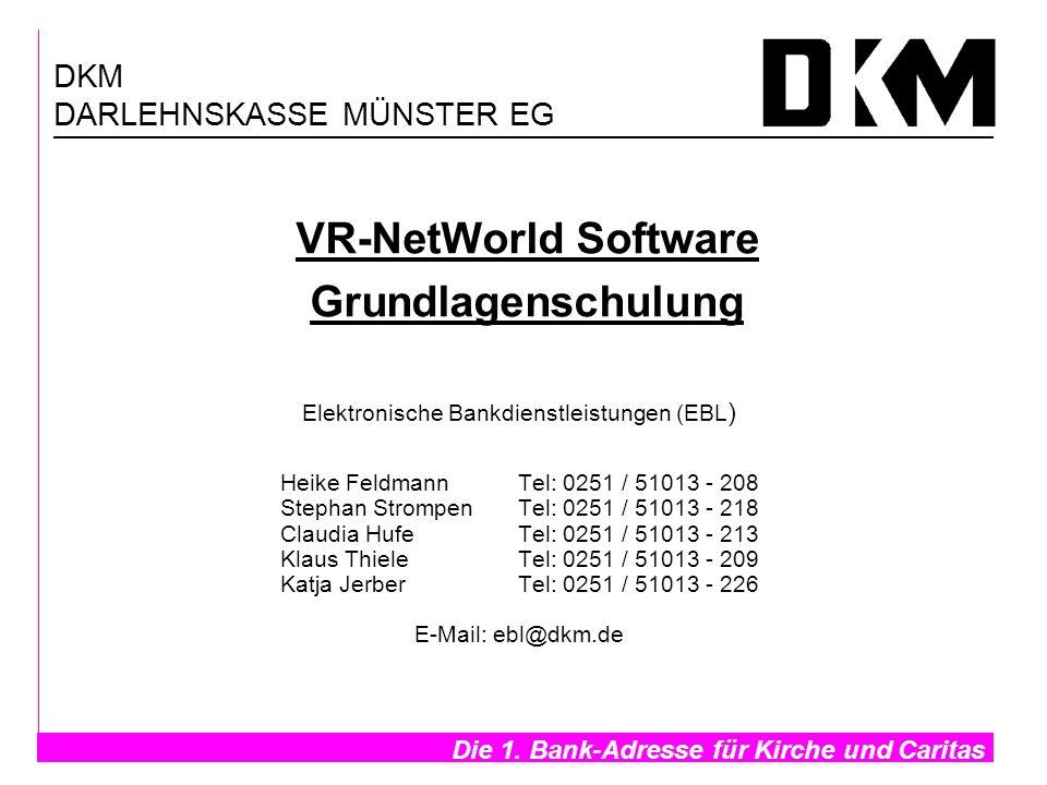 VR-NetWorld Software Grundlagenschulung
