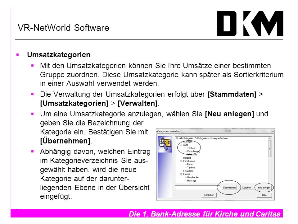 VR-NetWorld Software Umsatzkategorien