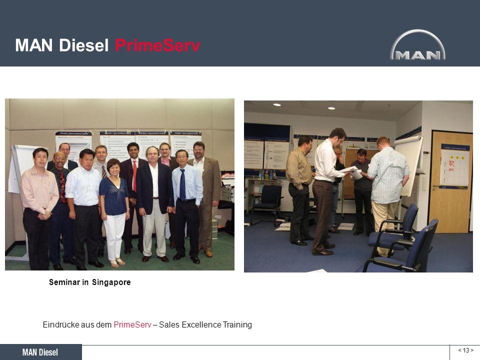MAN Diesel PrimeServ Seminar in Singapore