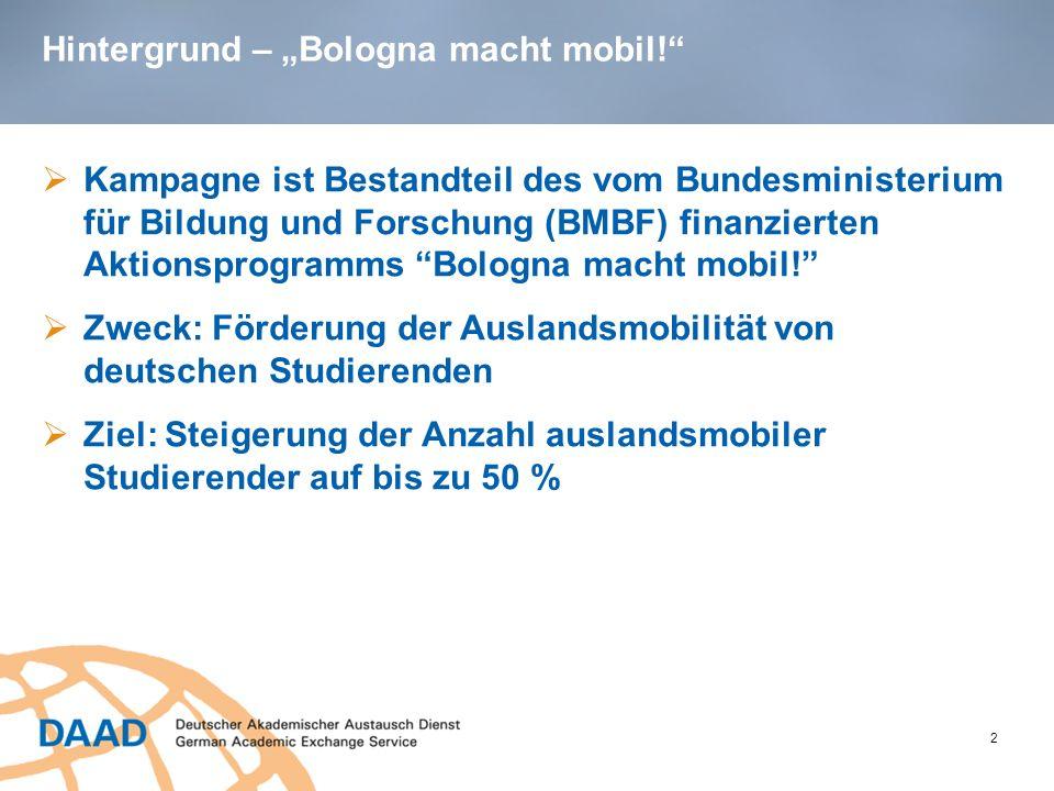 "Hintergrund – ""Bologna macht mobil!"