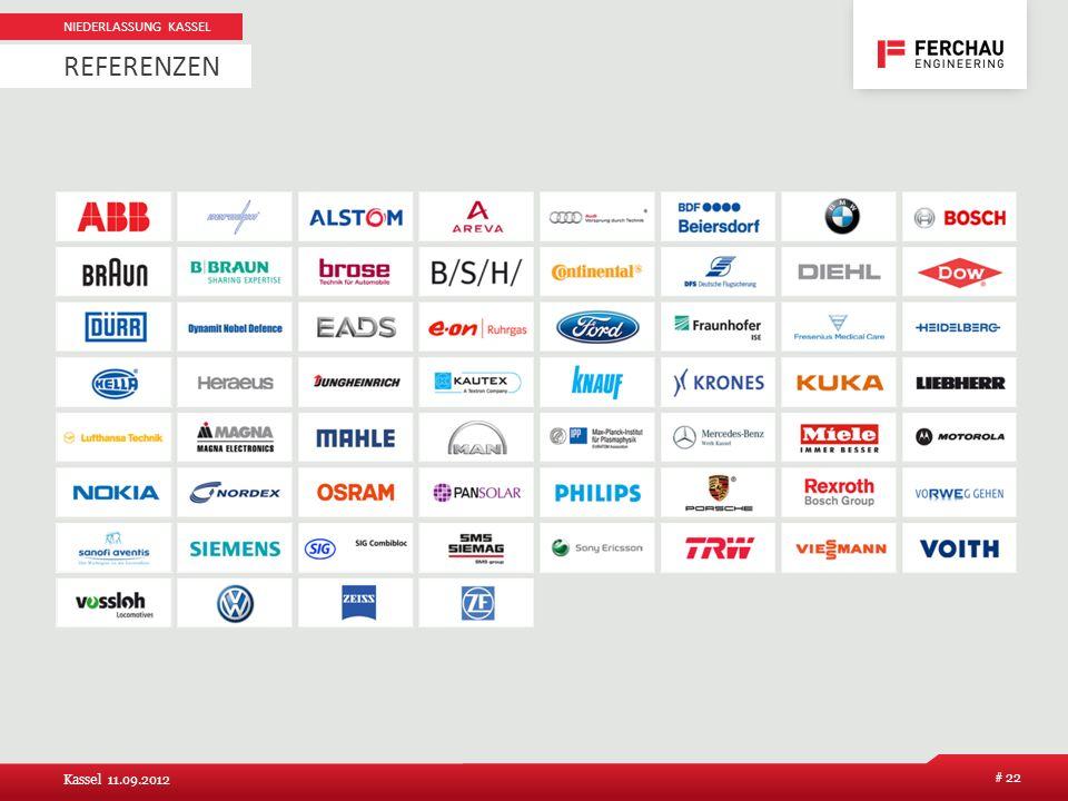 Niederlassung Kassel Referenzen Kassel 11.09.2012