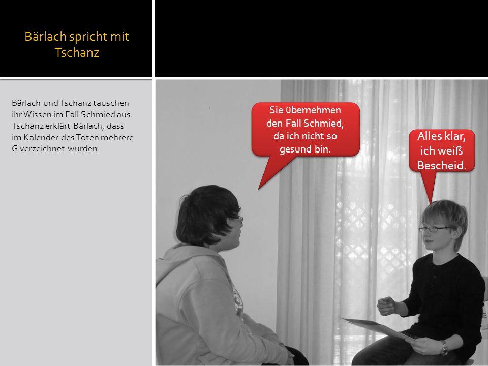 Bärlach spricht mit Tschanz
