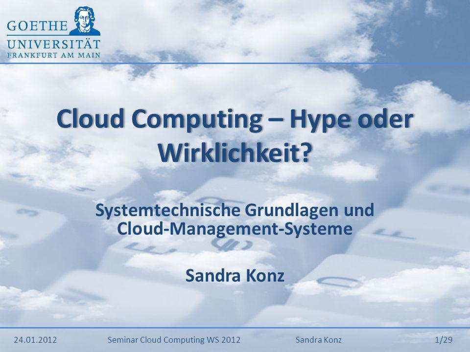 Cloud Computing – Hype oder Wirklichkeit