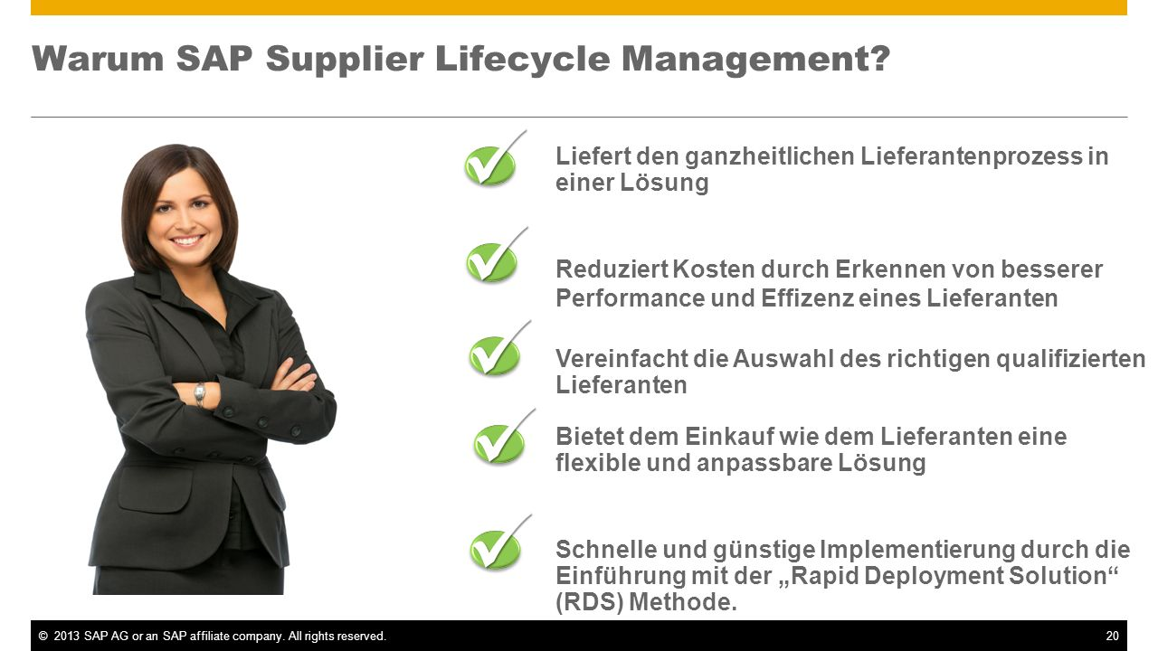 Warum SAP Supplier Lifecycle Management