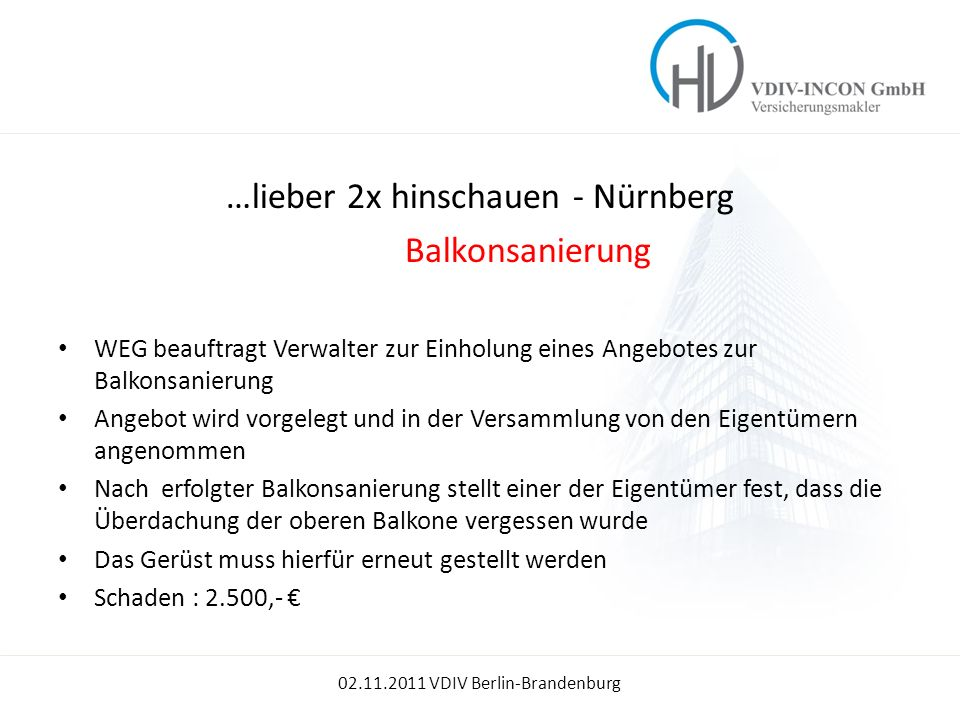 …lieber 2x hinschauen - Nürnberg