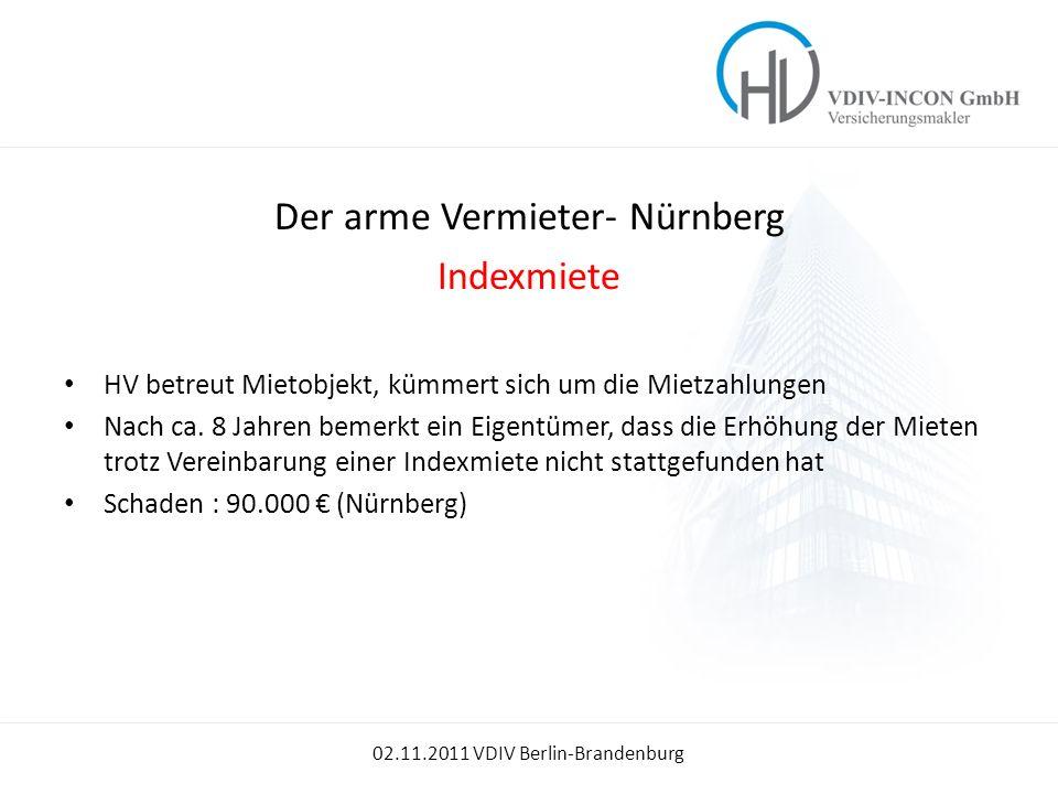 Der arme Vermieter- Nürnberg