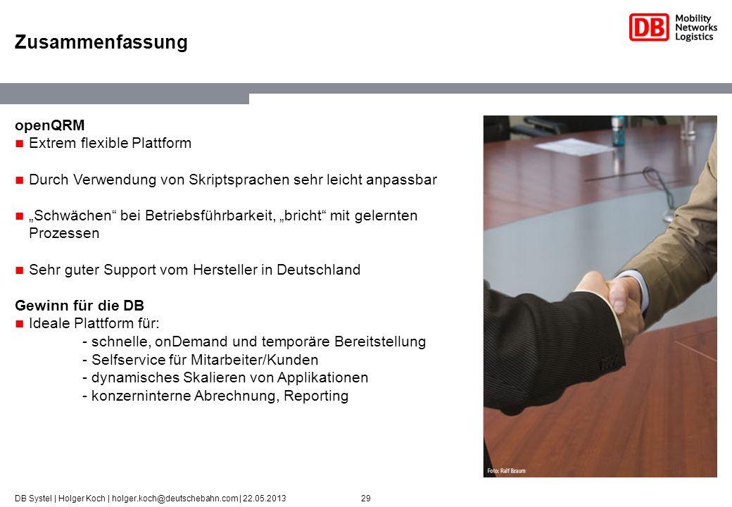 Zusammenfassung openQRM Extrem flexible Plattform