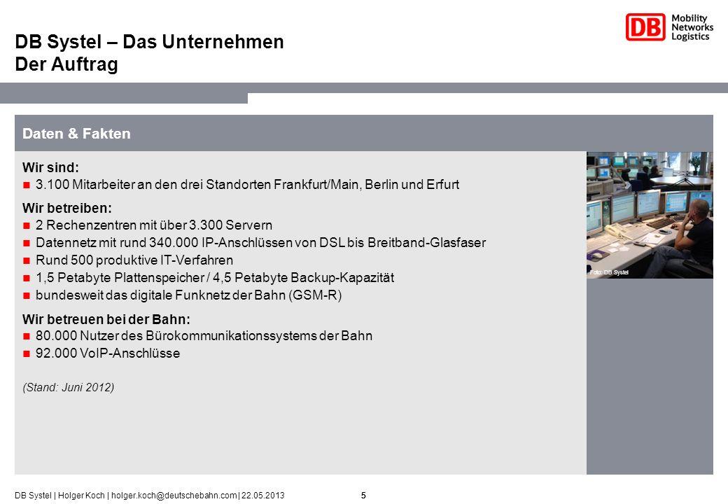 DB Systel – Das Unternehmen Der Auftrag