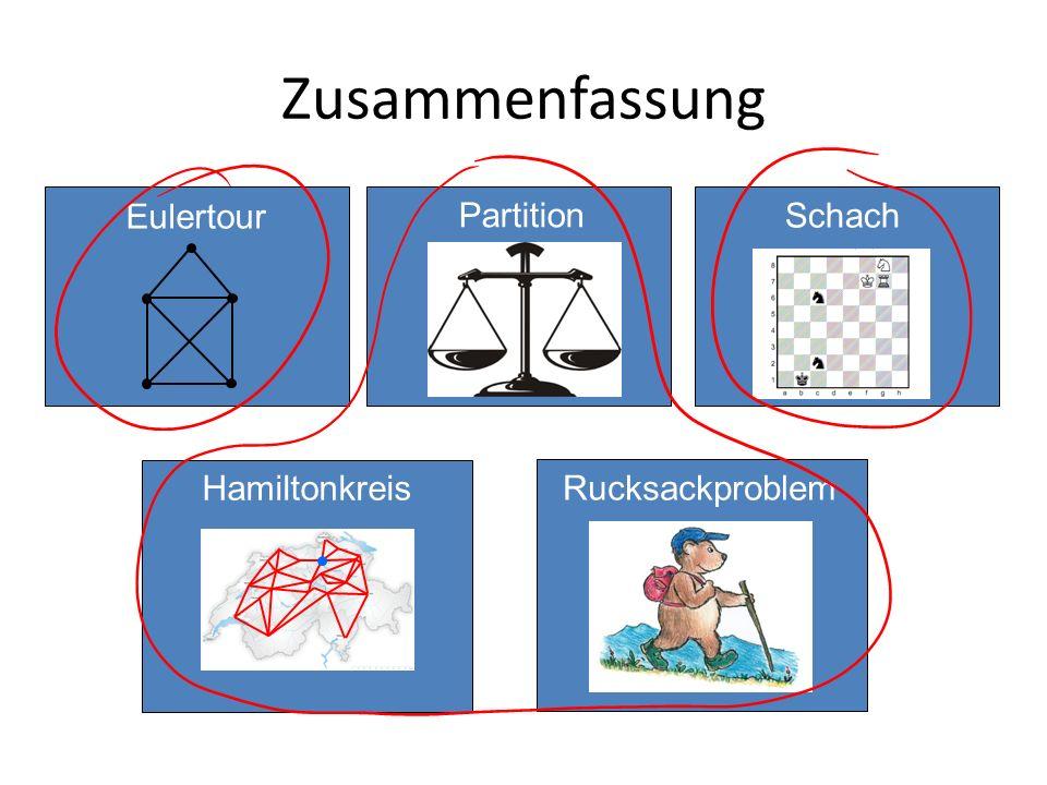 Zusammenfassung Eulertour Partition Schach Hamiltonkreis