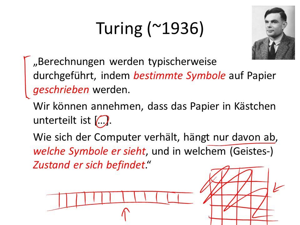 Turing (~1936)