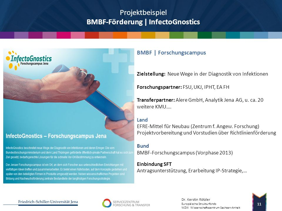Projektbeispiel BMBF-Förderung | InfectoGnostics