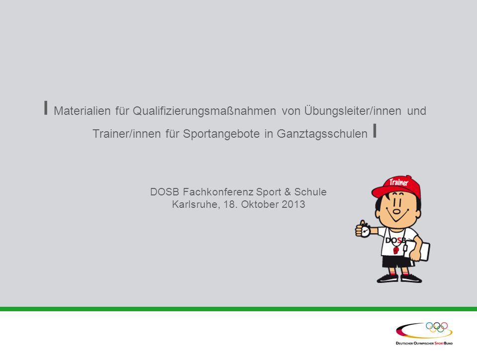 DOSB Fachkonferenz Sport & Schule