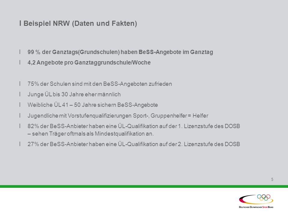 l Beispiel NRW (Daten und Fakten)
