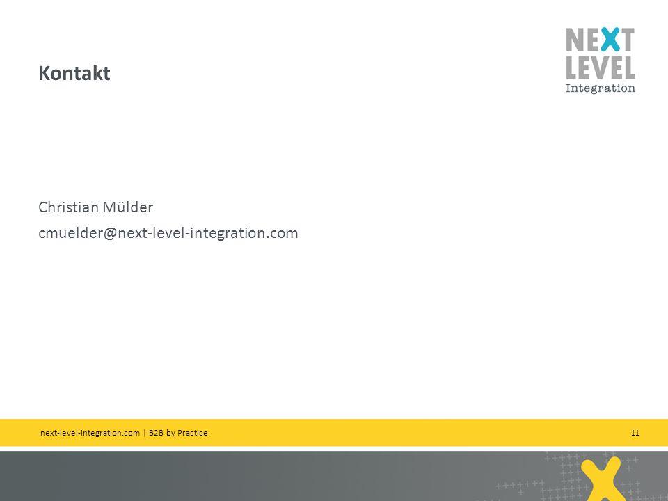 Kontakt Christian Mülder cmuelder@next-level-integration.com