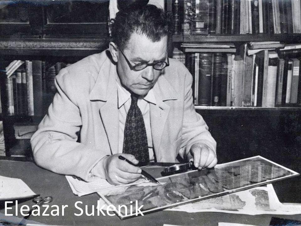 Eleazar Sukenik