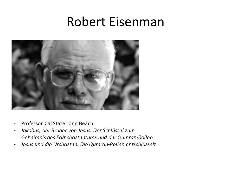 Robert Eisenman Professor Cal State Long Beach