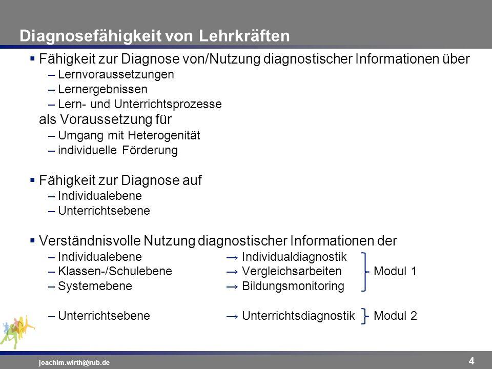 Diagnosefähigkeit von Lehrkräften