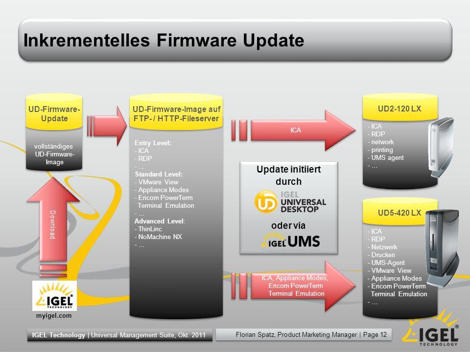 Inkrementelles Firmware Update