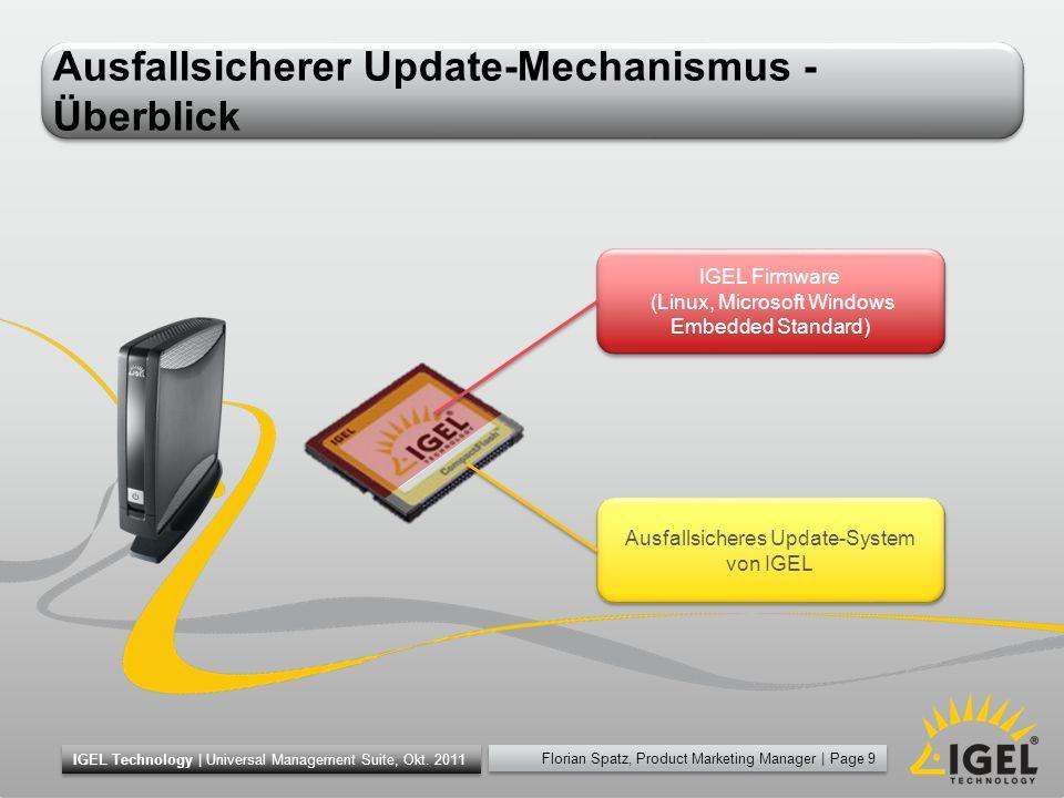 Ausfallsicherer Update-Mechanismus - Überblick
