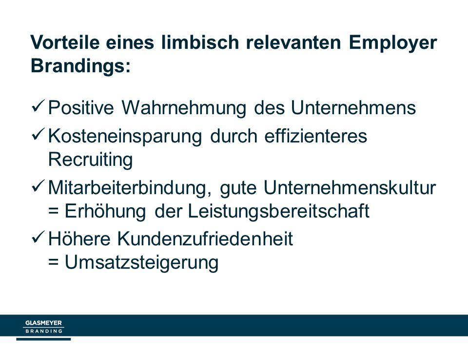 Vorteile eines limbisch relevanten Employer Brandings: