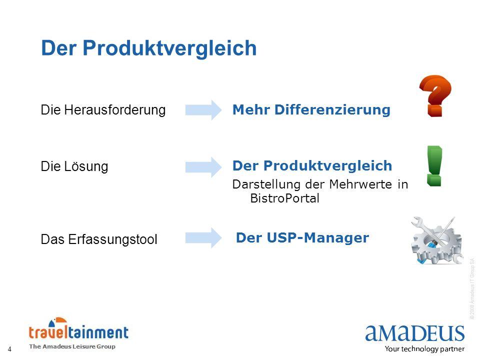 Der Produktvergleich Die Herausforderung Mehr Differenzierung