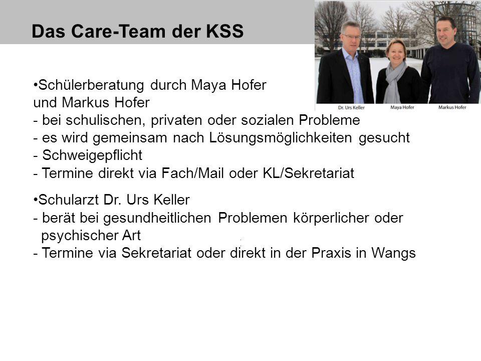 Das Care-Team der KSS