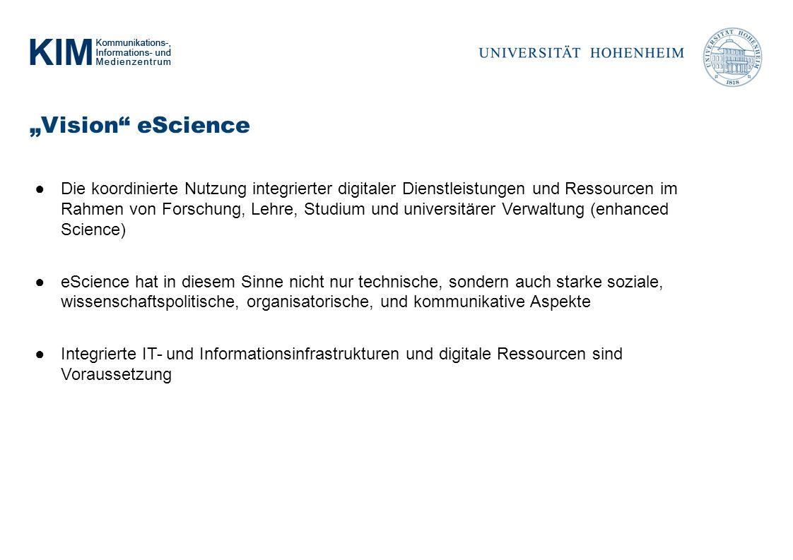"""""""Vision eScience"""