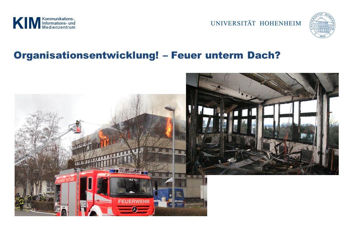 Organisationsentwicklung! – Feuer unterm Dach