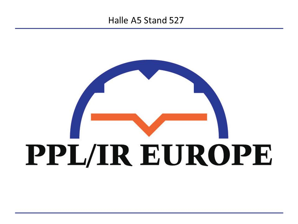 Halle A5 Stand 527