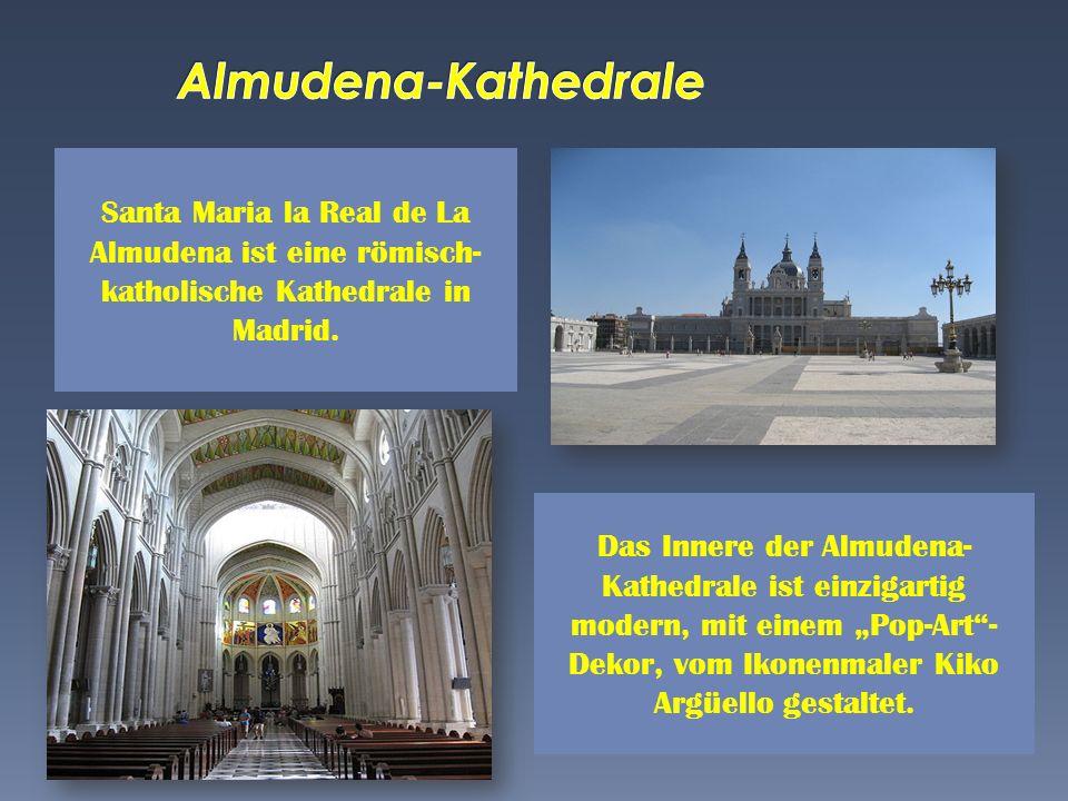 Almudena-Kathedrale Santa Maria la Real de La Almudena ist eine römisch-katholische Kathedrale in Madrid.